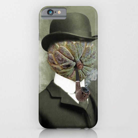 Sir Custard Bowler iPhone & iPod Case