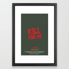 Nightmare Elm Street 2 Quote Poster - Freddy's Revenge Framed Art Print
