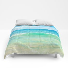 Ocean Blue Beach Dreams Comforters