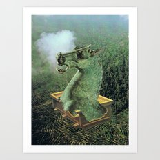 UNTITLED (Checkmate)  Art Print