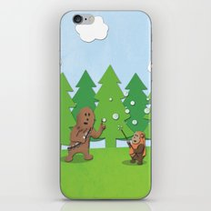 SW Kids - Chewie Bubbles iPhone & iPod Skin