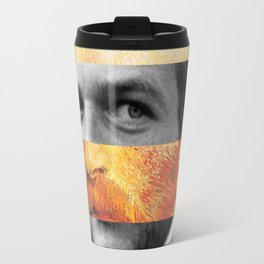 Van Gogh's Self Portrait & Paul Newman Travel Mug