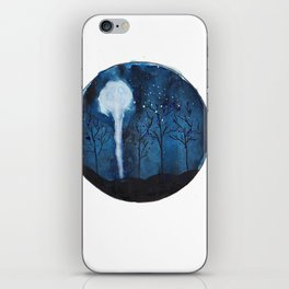 Moon light  iPhone Skin
