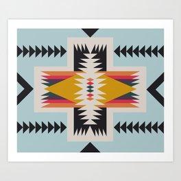 hammock nap Art Print