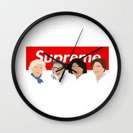 supreme court Wall Clock