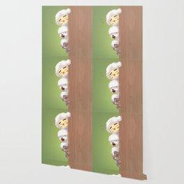 Peeking Wallpaper