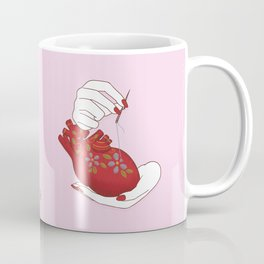 Heart - ( care for your soul ) Coffee Mug