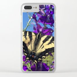 Swallowtail Clear iPhone Case