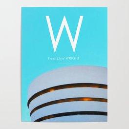 Iconic Architects: Lloyd Wright Poster