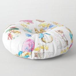 Tales of Peter Rabbit  characters Beatrix Potter Floor Pillow