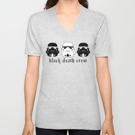 Black Death Crew Buckets Unisex V-Neck