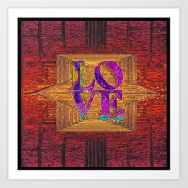 LOVE IN THE TIME OF ELEVATORS Art Print