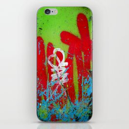 Jardin De Graffiti iPhone Skin