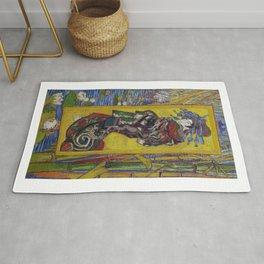 """Vincent van Gogh, """" Courtesan- after Eisen """" Rug"""