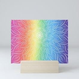 Burst of PRIDE Mini Art Print