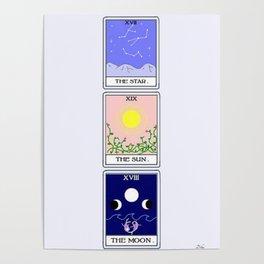 Trio of Tarot Poster