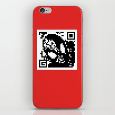QR- Spiderman iPhone & iPod Skin