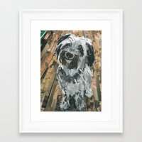 friday Framed Art Prints featuring Friday by Maritza Hernandez