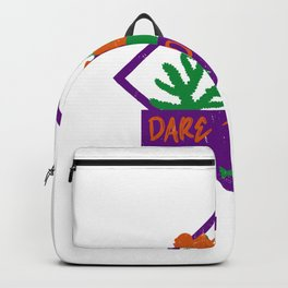 Dare To Dive Diving Halloween Costume Party Guising Backpack