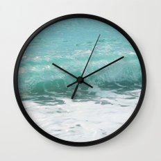 Curled Wave Wall Clock