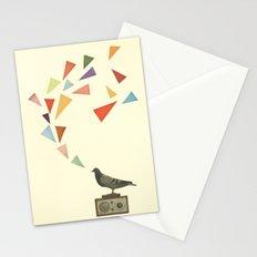 Pigeon Radio Stationery Cards