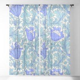 "William Morris ""Anemone"" 3. Sheer Curtain"