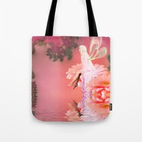 fairy Tote Bags featuring Fairy by Shalisa Photography
