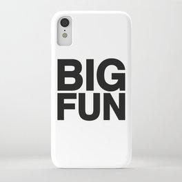 BIG FUN iPhone Case