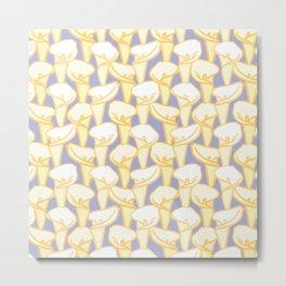 Arum Lily Flower Pattern Metal Print