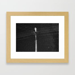 Forgetting the Big Picture and Making it Wallet Size Framed Art Print