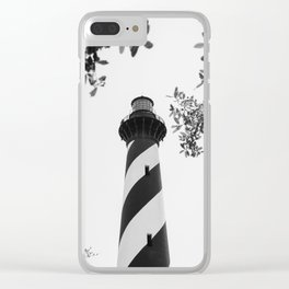 Hatteras Lighthouse Clear iPhone Case