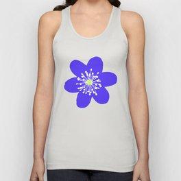 Flower Anemone Hepatica Unisex Tank Top