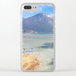 Lake Annecy Clear iPhone Case