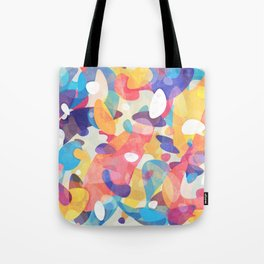 Chaotic Construction Tote Bag