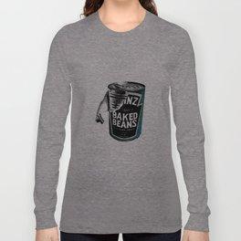 Beanz pen Drawing (colour) Long Sleeve T-shirt