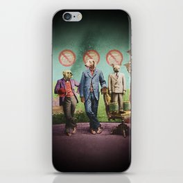 The Three Distinguished Members of the Committee to Handle the Squirrel Problem iPhone Skin