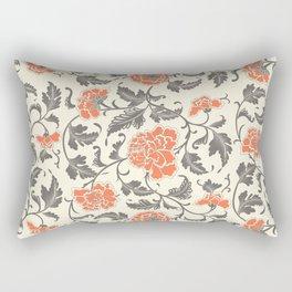 Elegant oriental floral pattern Rectangular Pillow