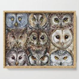 Owl Optics Serving Tray