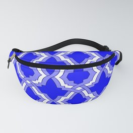 Grille No. 1 -- Blue Fanny Pack