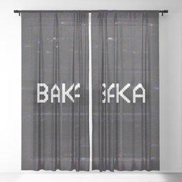 BAKA Sheer Curtain