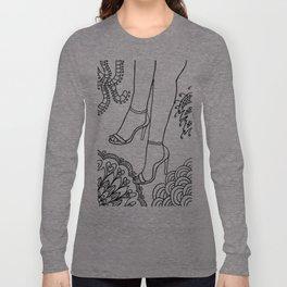 foot fetish Long Sleeve T-shirt