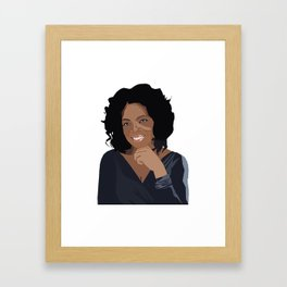 Oprah Framed Art Print