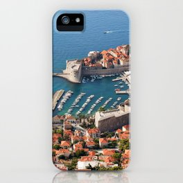 City of Dubrovnik in Croatia iPhone Case