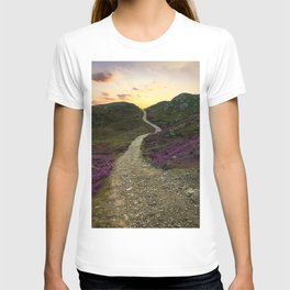 Sunset at Skye Island T-shirt