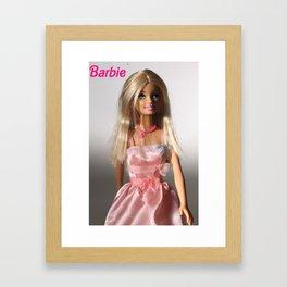Barbie Q Framed Art Print