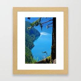 Nature's Window - Lake Slocan, BC, Canada Framed Art Print