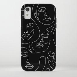Faces in Dark iPhone Case