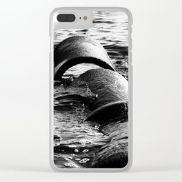 Disconnected Clear iPhone Case