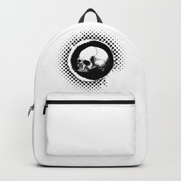 Grungy Skull Backpack