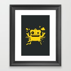Monster Art Framed Art Print